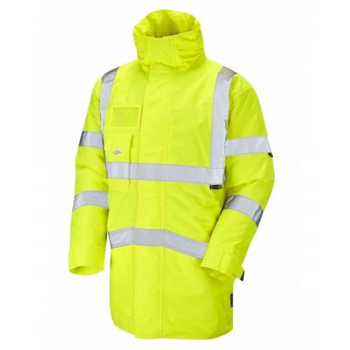 Leo Workwear Marwood Class 3 Yellow Superior Anorak