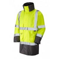 Leo Workwear Torridge Class 3 Yellow Lightweight Anorak