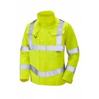 Leo Workwear Yeoford Class 3 Yellow Drivers Jacket