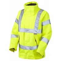 Leo Workwear Rosemoor Class 3 Yellow Ladies Breathable Jacket