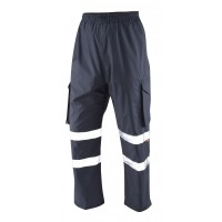 Leo Workwear Appledore Navy Cargo Overtrousers