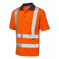 Leo Workwear Rockham RIS-3279 Orange Polo Shirt