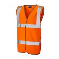 Leo Workwear Tarka Class 2 Orange Hi Vis Waistcoat