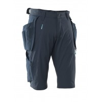 Mascot Advanced Navy Craftsmen's Shorts