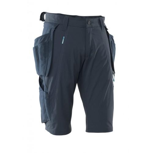 Mascot Advanced Navy Craftsmen's Shorts