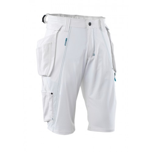 Mascot Advanced White Craftsmen's Shorts