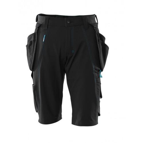 Mascot Advanced Black Craftsmen's Shorts