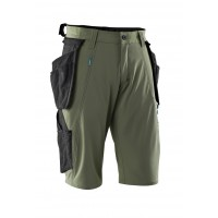 Mascot Advanced Green Craftsmen's Shorts