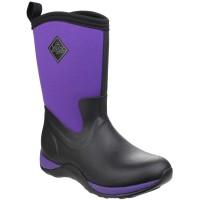 Muck Boots Arctic Weekend Wellingtons, Waterproof  Muckboots Ladies 3 - 9 Purple