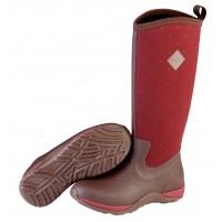 Muck Boots Arctic Adventure Red Quilt Wellingtons Waterproof Ladies 3 - 9 Muck Boot Company