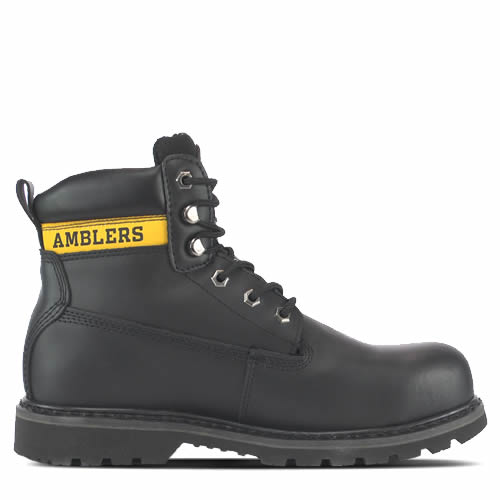Amblers FS9 Black Safety Boots