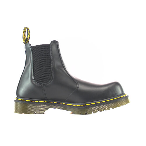 Dr Martens Icon Black Smooth Leather Dealer Safety Boots 2028