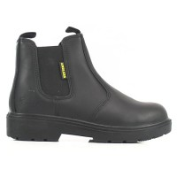 Amblers Black Dealer Safety Boots FS116