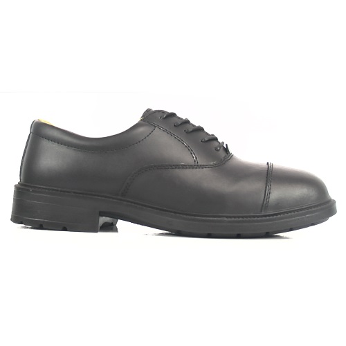Amblers  FS43 Safety Shoes Black With Steel Toe Caps