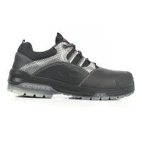 Cofra Caravaggio Black Metal Free Safety Trainers