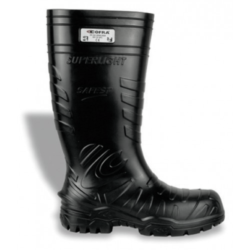 Cofra Safest Black Cold Protection Safety Wellingtons