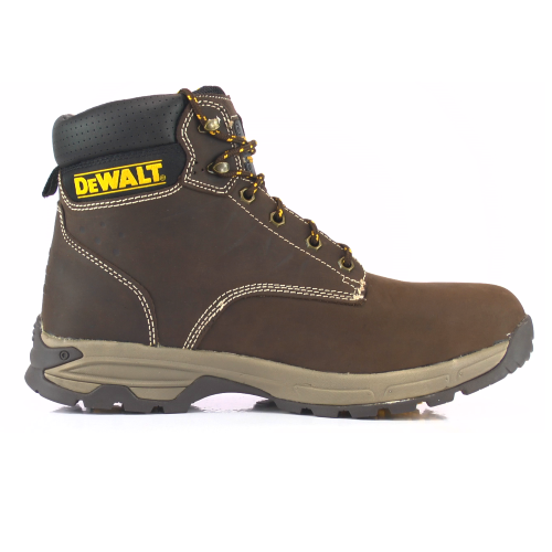 DeWalt Carbon Boot Brown Safety Boots With Steel Toe Caps