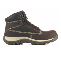 DeWalt Hammer Safety Boots Brown Composite Toe Cap