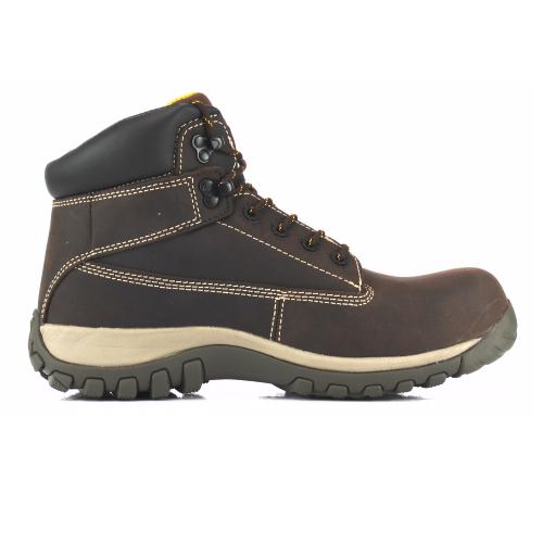 DeWalt Hammer Safety Boots Brown Composite Toe Cap