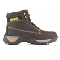 Dewalt Apprentice Brown Safety Boots Steel Toe Caps