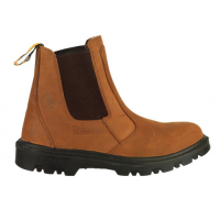 Amblers FS131 Brown Safety Dealer Boots With Steel Toe Caps & Midsole