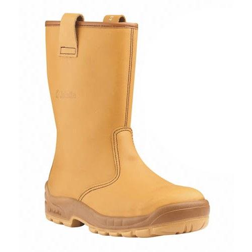 Jallatte Jalartic Rigger Boots Steel Toe Cap & Midsole J0257 Fur Lined