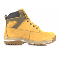 JCB Fasttrack Safety Boots Honey With Steel Toe Caps Midsole