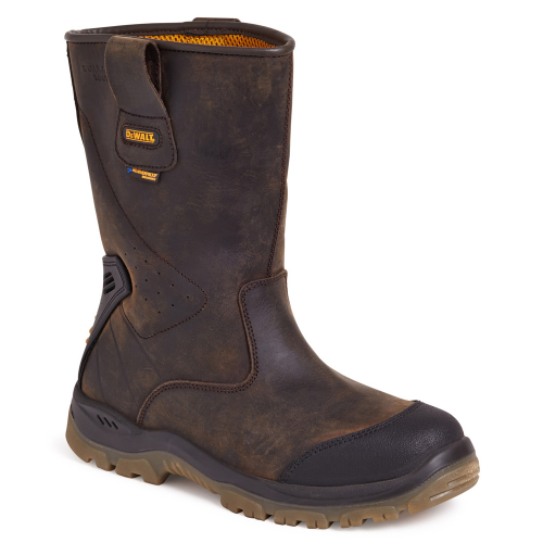 Dewalt Tungsten Rigger Boots Steel Toe Caps & Midsole