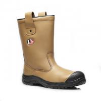 V12 V6816 Polar Tan Fur Lined Safety Rigger Boots