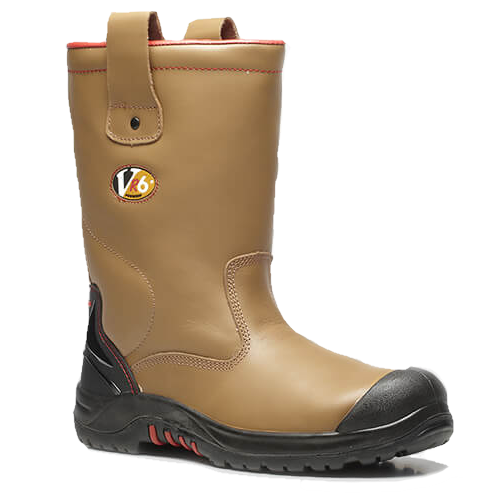 V12 VR690 Grizzly Fleece Lined Safety Rigger Boots