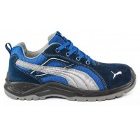 Puma Omni Blue Safety Trainers with Steel Toecaps & Midsole