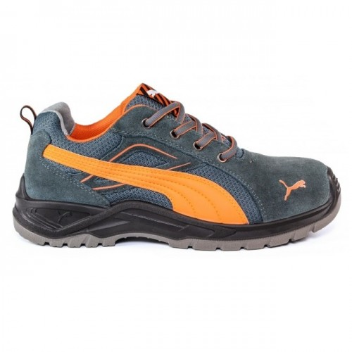 Puma Omni Orange Safety Trainers with Steel Toecaps & Midsole