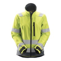 Snickers 1237 AllRoundWork Women's High Vis Soft Shell Jacket