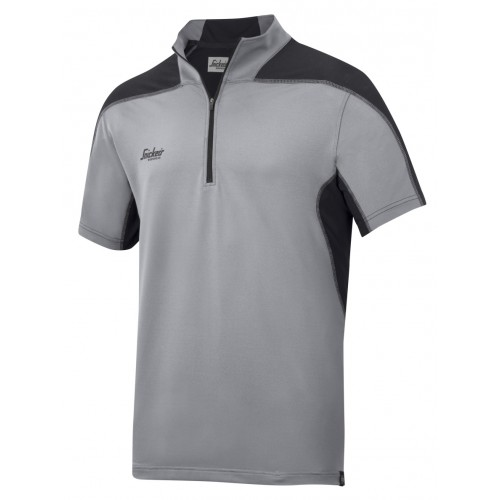 Snickers 2716 A.V.S. Body Mapping Polo Shirt Grey