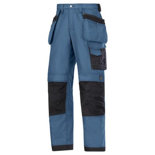 Snickers 3214 3-Series Ocean/Black Holster Trousers