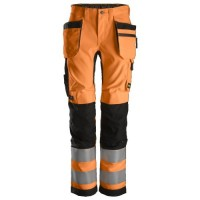 Snickers 6730 AllroundWork, Women's Hi-Vis Work Trousers+ Holster Pockets