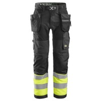 Snickers 6931 FlexiWork High-Vis Holster Work Trousers