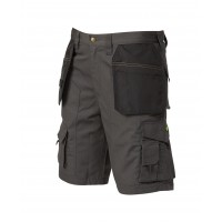 Apache Grey/ Black Lightweight Cargo Workwear Shorts