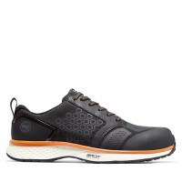 Timberland Pro Reaxion Black/Orange Safety Trainers