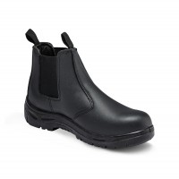 Titan Chelsea Black Safety Boots