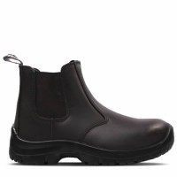 Titan Chelsea Brown Safety Boots