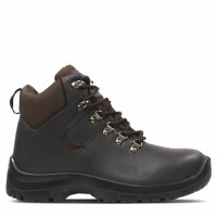 Titan Hiker Brown Safety Boots