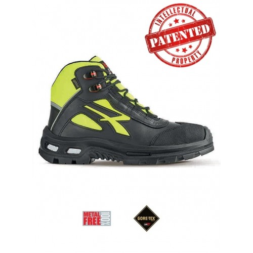 UPower Mind GORE-TEX Safety Boots Waterproof Metal Free Yellow