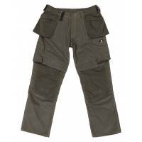 Mascot Velho Craftsmens Workwear Trousers Dark Olive