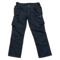 Mascot Velho Craftsmens Workwear Trousers Dark Navy