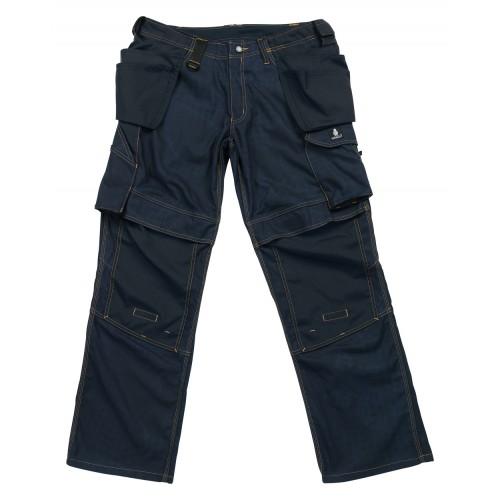 Mascot Velho Craftsmens Workwear Trousers Dark Navy