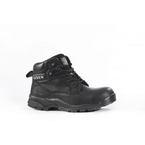 Vixen Onyx Black Ladies Safety Boots