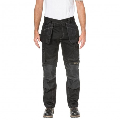 CAT Floor Flex Black Layer Trousers
