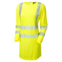 Leo Workwear Coolviz Plus Yellow Modesty Tunic