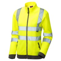 Leo Workwear Hollicombe Yellow Womens Sweatshirt